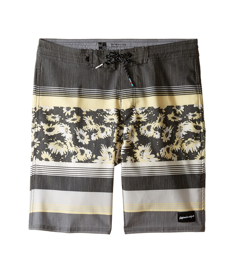 Quiksilver Kids Swell Vision Beach Shorts Youth 17 (Big Kids) (Quiet Shade) Boy
