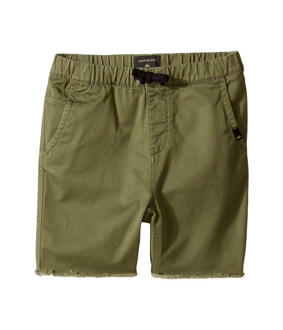 Quiksilver Kids - Fun Days Shorts (Big Kids) (Four Leaf Clover) Boy's Shorts