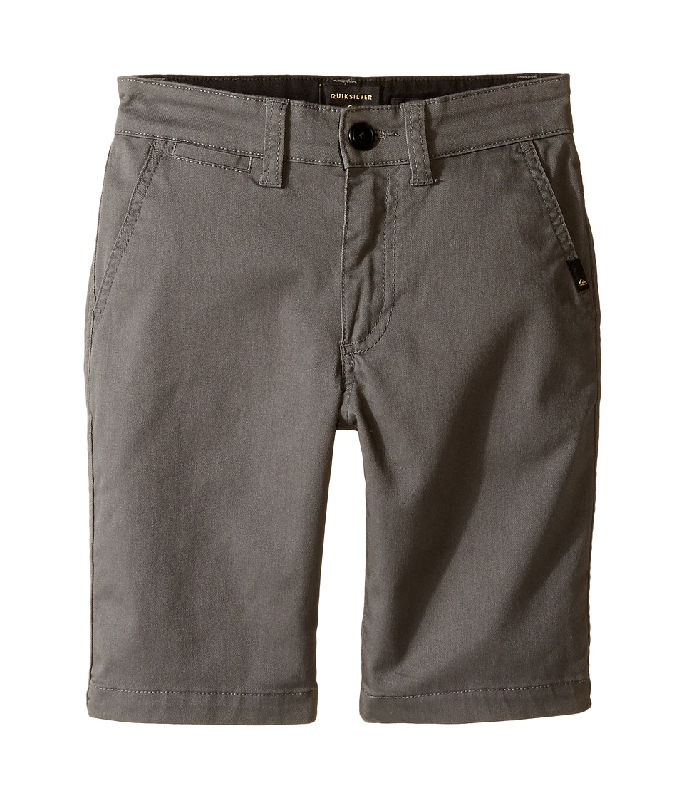 Quiksilver Kids - Everyday Union Stretch Walkshorts (Big Kids) (Castlerock) Boy's Shorts