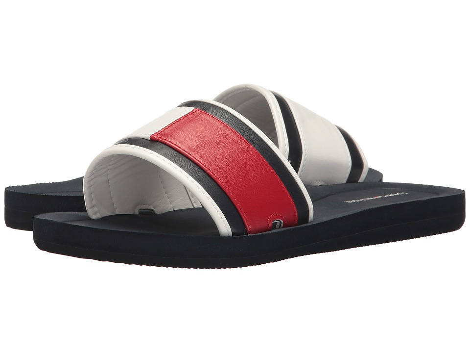 Tommy Hilfiger - Mirror (Marine/Red) Women's Shoes