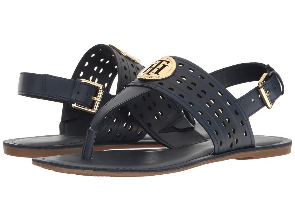 Tommy Hilfiger - Larken (Navy) Women's Shoes