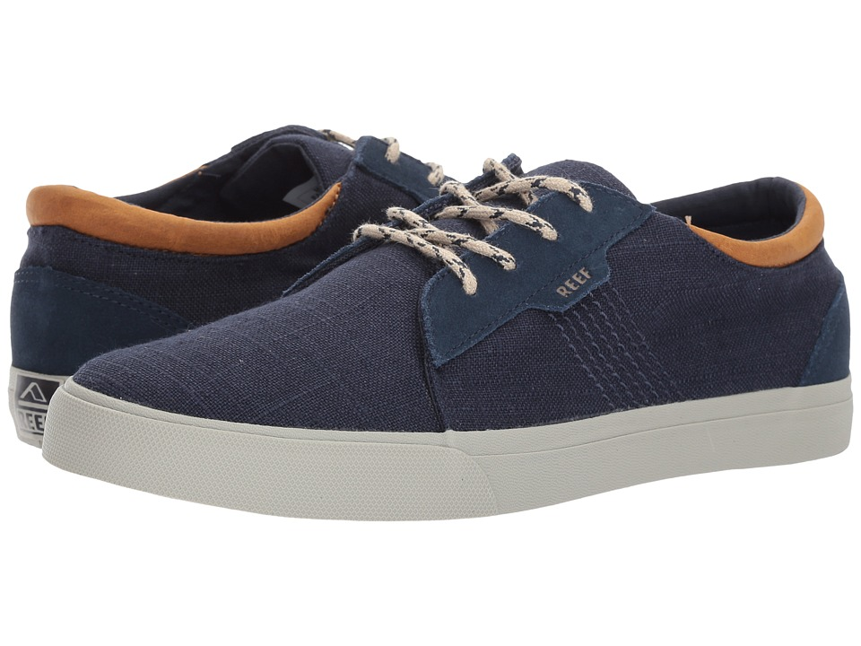 Reef - Ridge TX (Blue/Silver) Men's Lace up casual Shoes