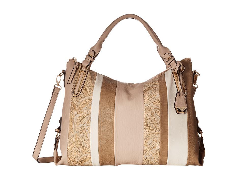 Jessica Simpson - Ryanne Top Zip Tote (Blush Mixed Media) Tote Handbags