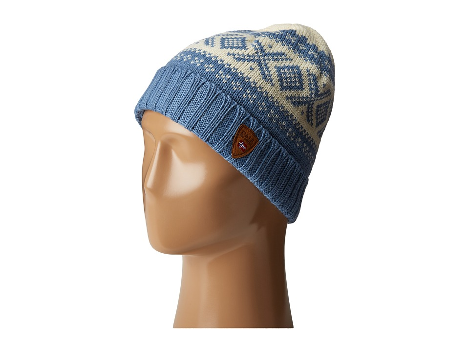 Dale of Norway - Cortina 1956 Hat (Light Blue/Off White) Knit Hats