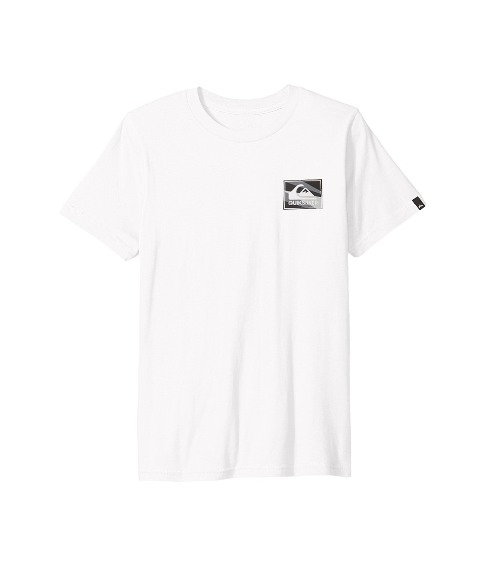 Quiksilver Kids - Box Knife Youth (Big Kids) (White) Boy's T Shirt