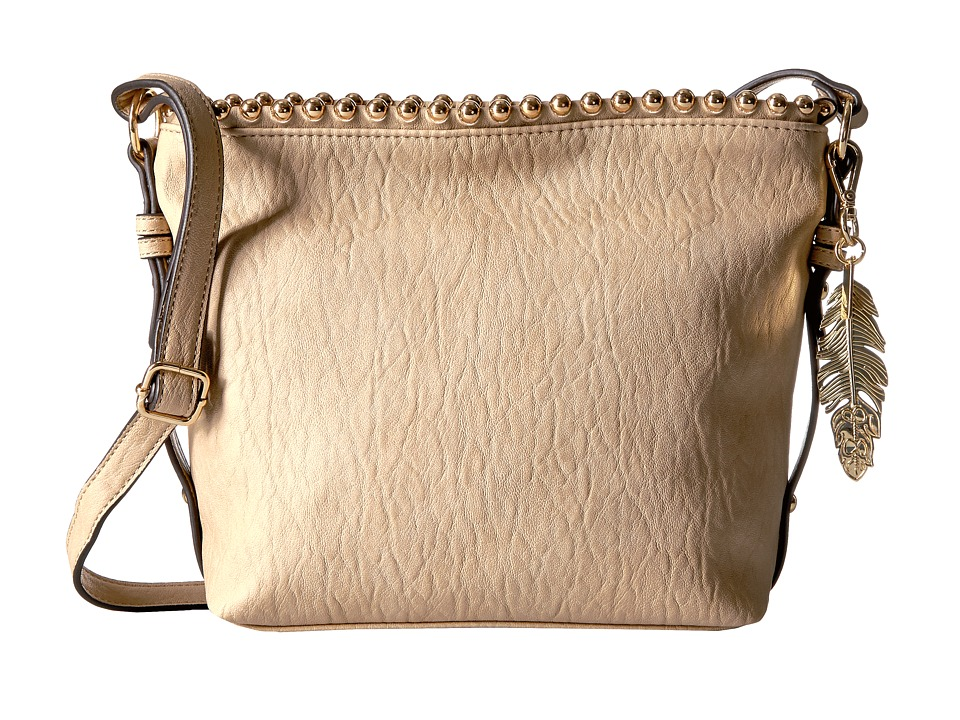 Jessica Simpson - Camile Bucket Crossbody (Toasted Almond) Cross Body Handbags