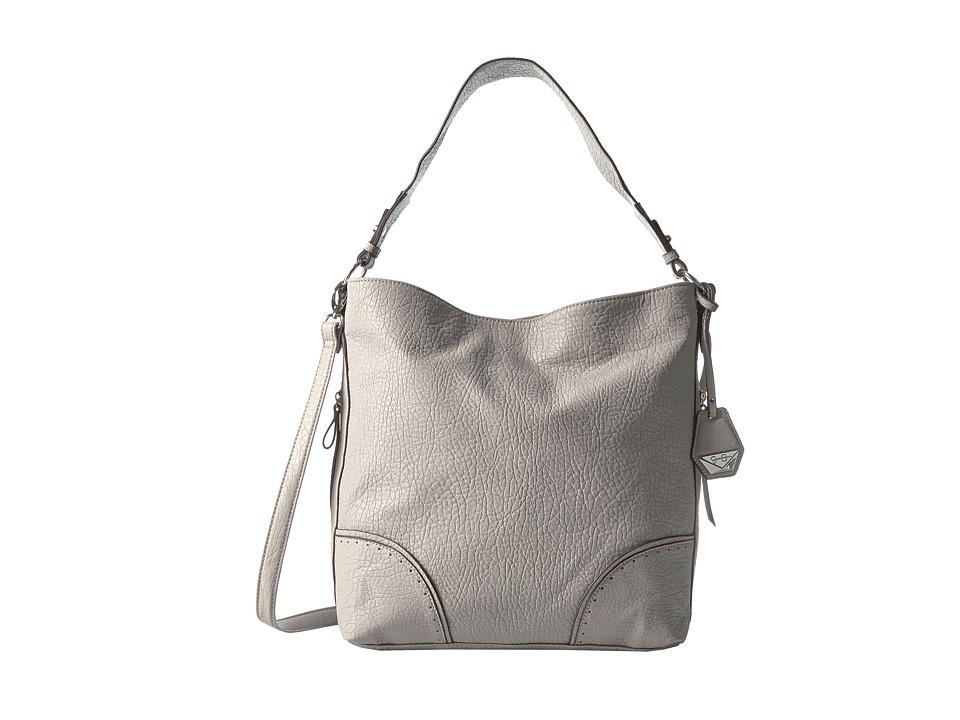 Jessica Simpson - Lani Crossbody Hobo (Gris) Hobo Handbags