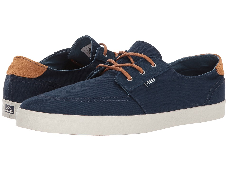 Reef Banyan (Blue Nights) Men's Lace up casual Shoes. On sale ...