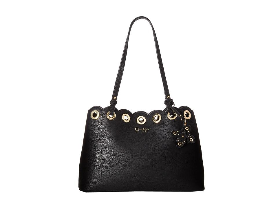 Jessica Simpson - Venita Tote (Black) Tote Handbags