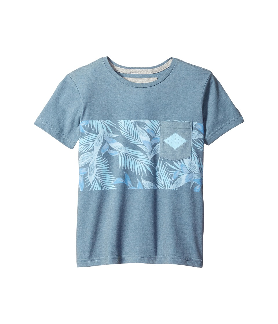 Quiksilver Kids - Faded Time Youth (Big Kids) (Dark Denim) Boy's T Shirt