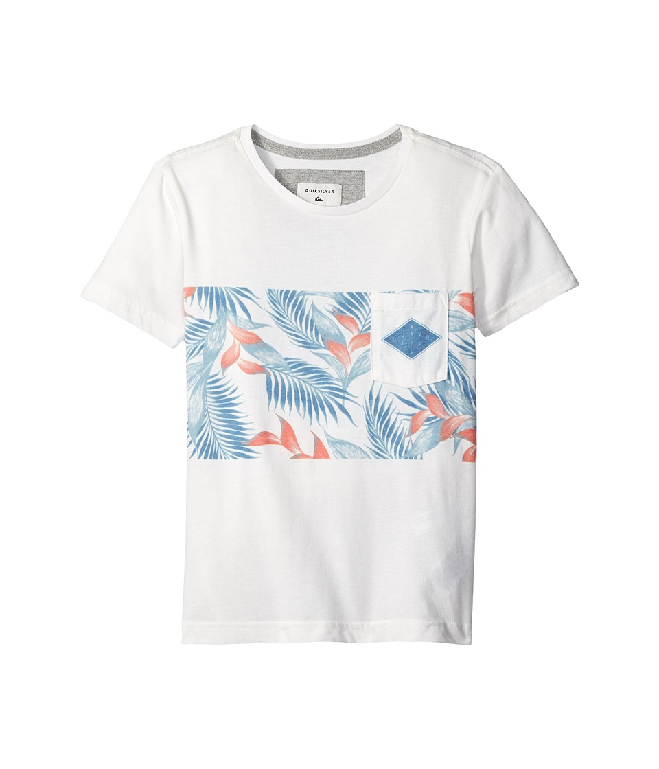 Quiksilver Kids - Faded Time Youth (Big Kids) (Snow White) Boy's T Shirt