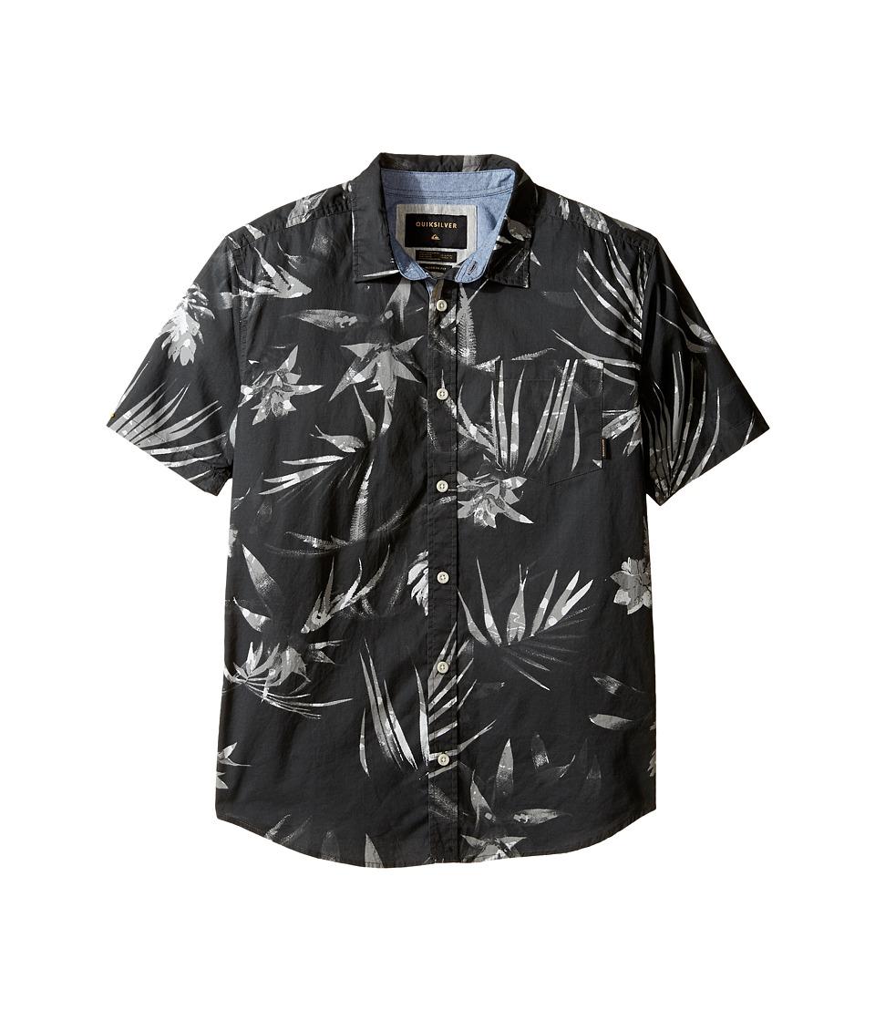 Quiksilver Kids - Everyday Print Short Sleeve Youth (Big Kids) (Tarmac Print) Boy's T Shirt