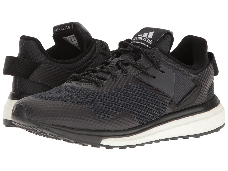 adidas - Response 3 (Black/Dark Grey/Dark Grey) Women's Shoes