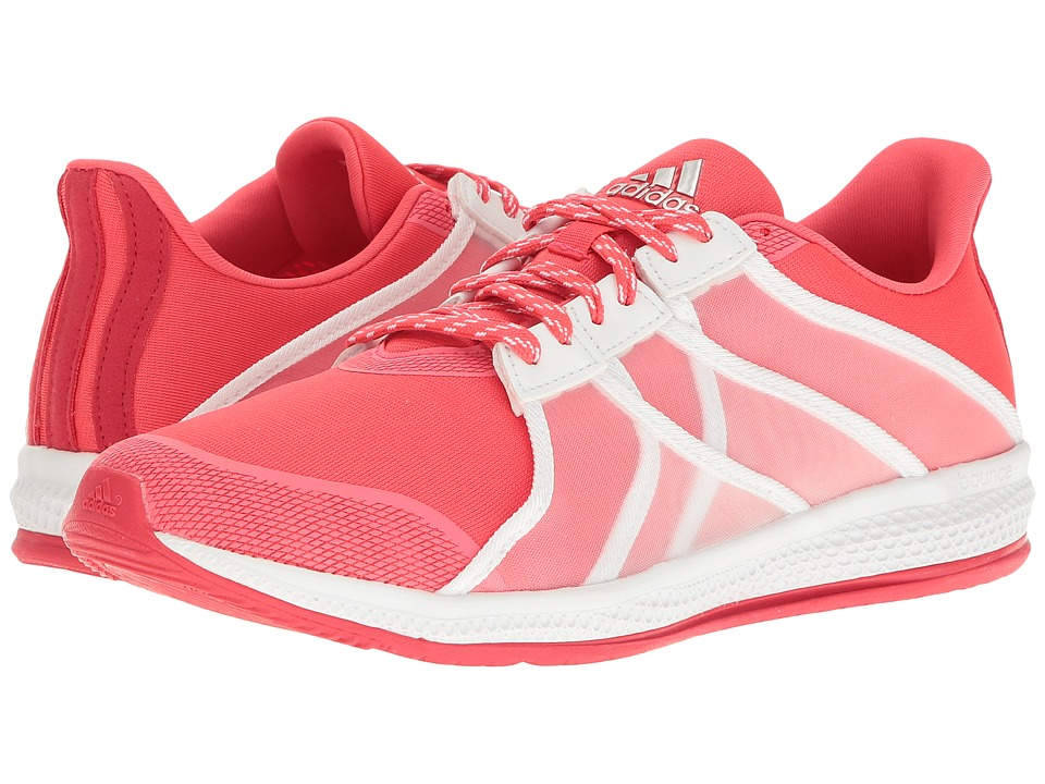 adidas - Gymbreaker Bounce (Shock Red/White/Ray Red) Women's Shoes