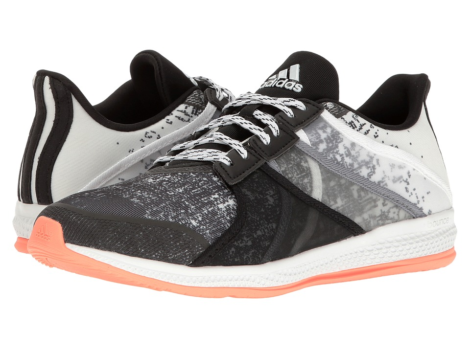 adidas - Gymbreaker Bounce (Sun Glow/Black/Grey) Women's Shoes