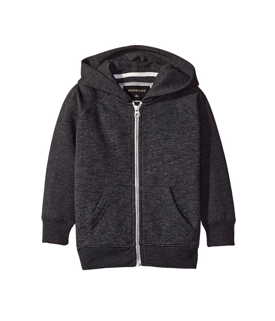Quiksilver Kids - Everyday Zip Youth (Big Kids) (Dark Grey Heather) Boy's Sweatshirt