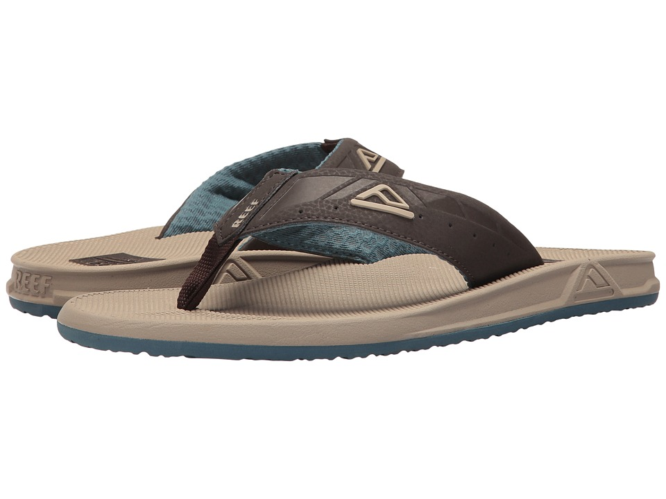 Reef - Phantoms (Sand/Light Blue) Men's Sandals