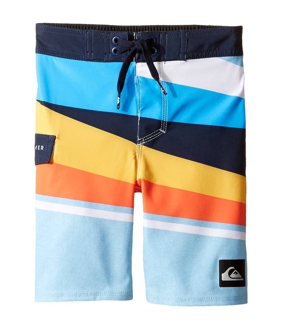 Quiksilver Kids - Slash Vee 14 5 (Toddler/Little Kids) (Angel Falls) Boy's Swimwear