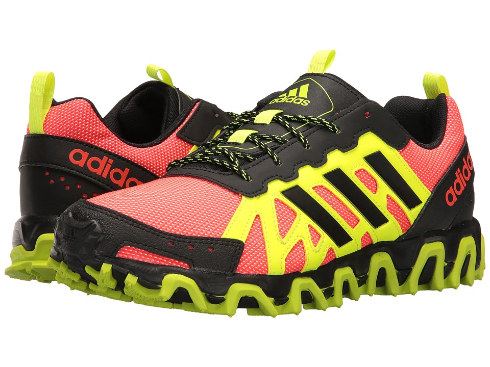 adidas - Incision Trail (Solar Red/Black/Yellow) Men's Shoes