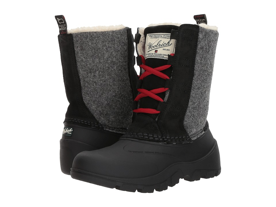 Woolrich Fully Wooly Tundracat (Black) Women