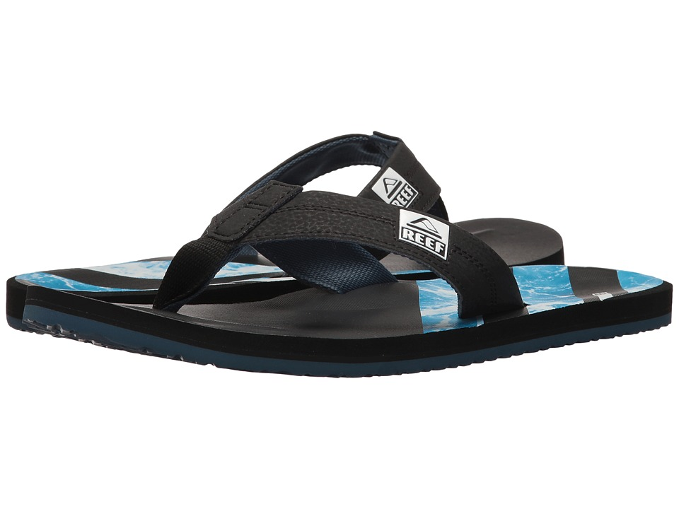 Reef - HT Prints (Water Blue) Men's Sandals
