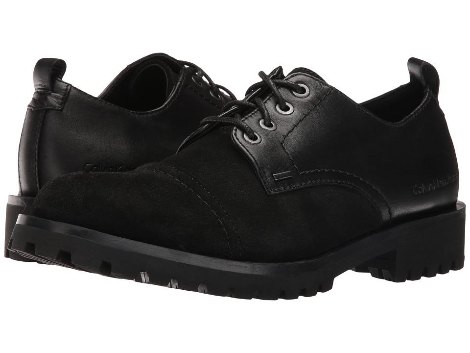 Calvin Klein Jeans Nox (Black Oil Suede) Men