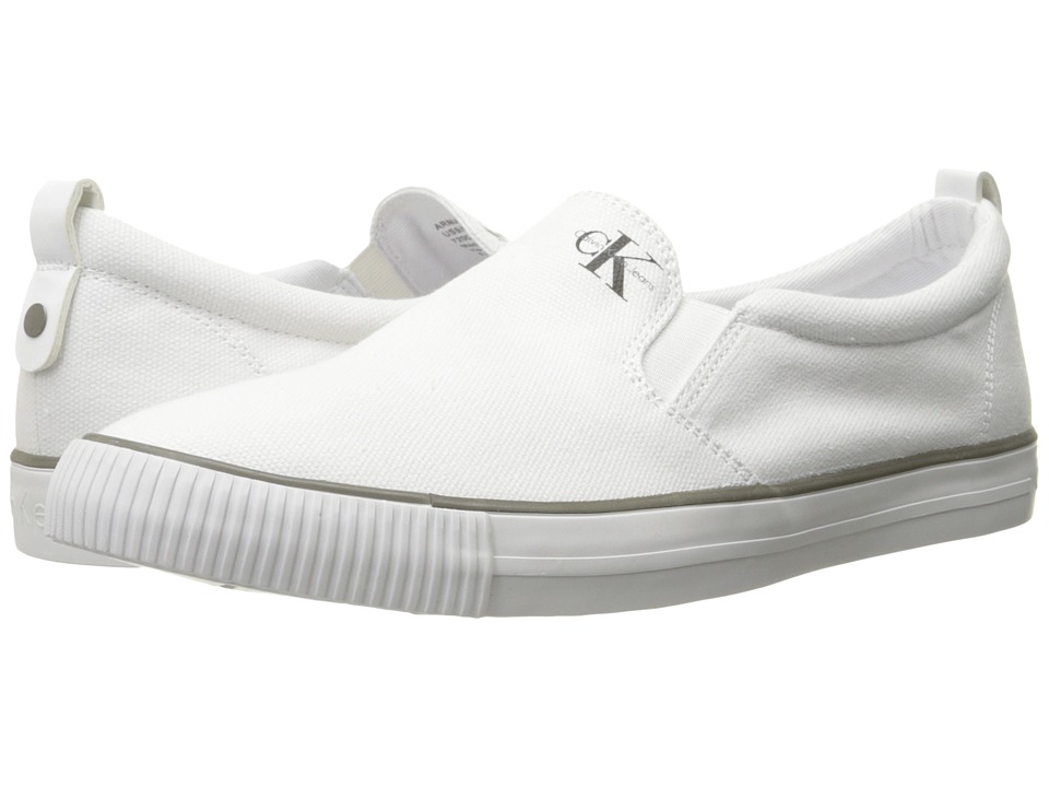 Calvin Klein Jeans - Armand (White) Men's Shoes
