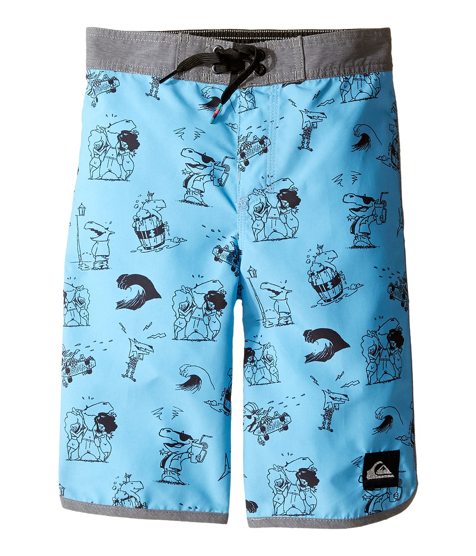 Quiksilver Kids - Dark Doggy 14 5 (Toddler/Little Kids) (Bonnie Blue) Boy's Swimwear
