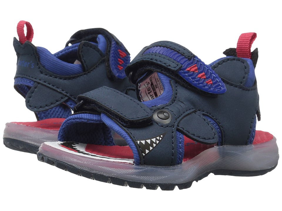 Carters - Presley (Toddler/Little Kid) (Navy) Boy's Shoes
