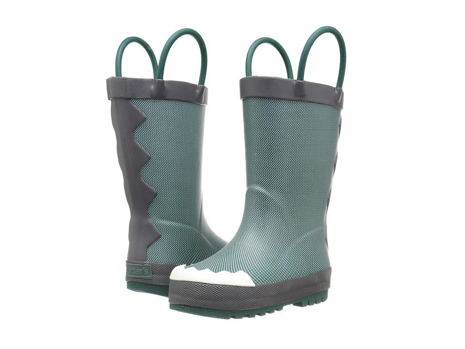 Carters - Rocko-R (Toddler/Little Kid) (Olive/Grey) Boy's Shoes