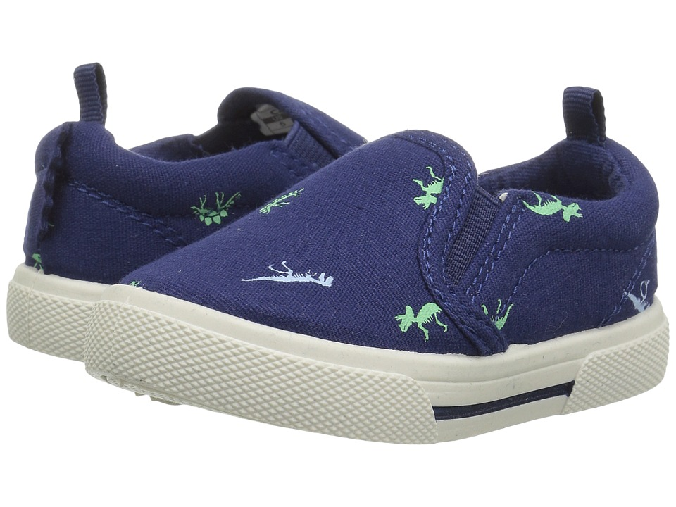 Carters - Damon 4 (Toddler/Little Kid) (Navy/Print) Boy's Shoes