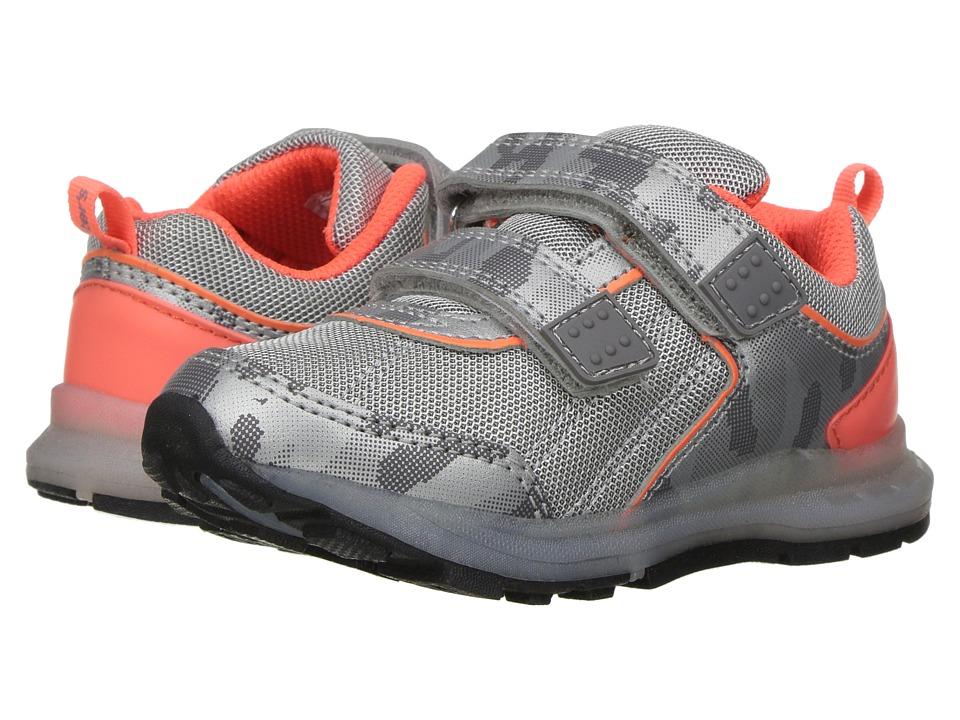 Carters - Dub-B (Toddler/Little Kid) (Silver/Orange) Boy's Shoes