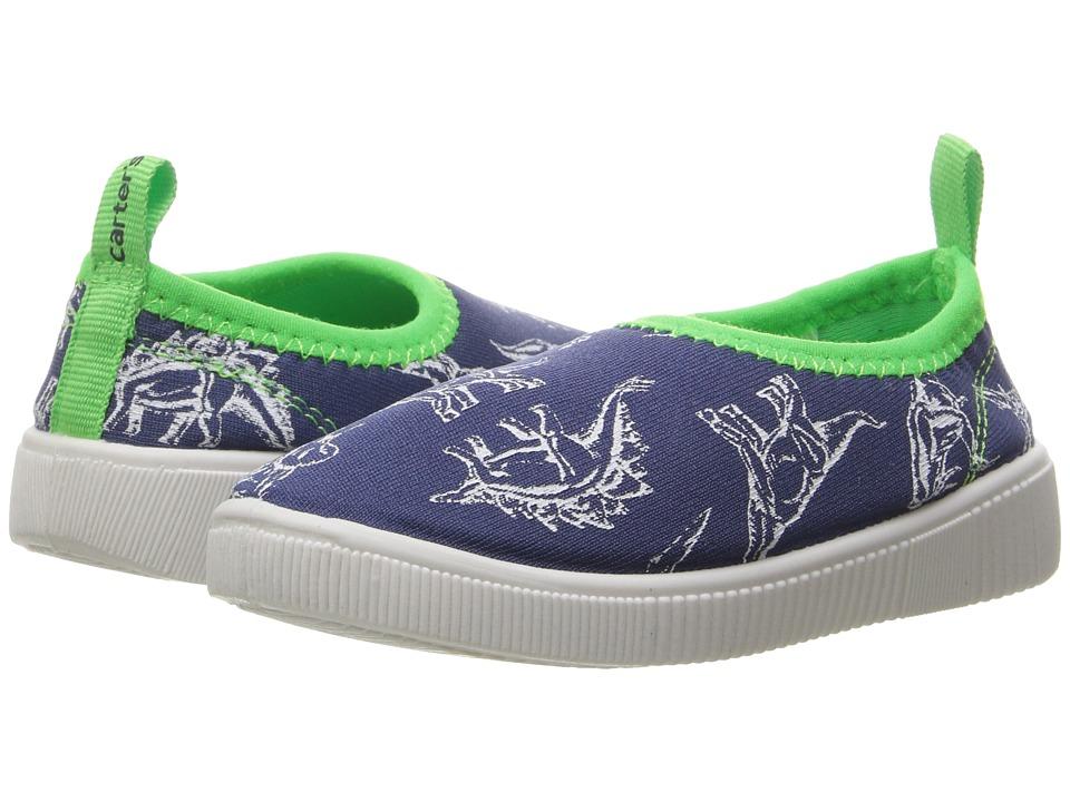 Carters - Floati 2B (Toddler/Little Kid) (Navy/Green) Boy's Shoes