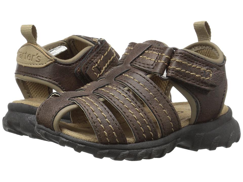 Carters - Jupiter-C (Toddler/Little Kid) (Brown) Boy's Shoes