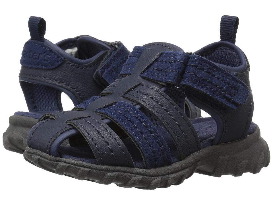 Carters - Jupiter-C (Toddler/Little Kid) (Navy/Gray) Boy's Shoes
