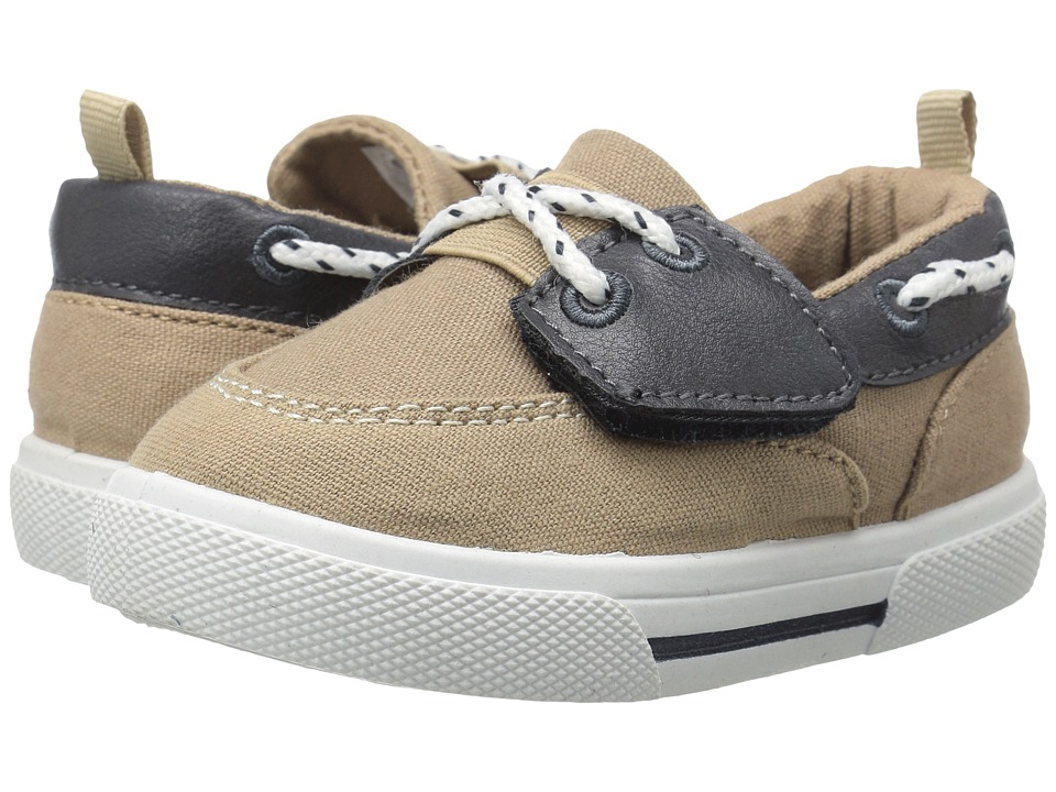Carters - Cosmo 4 (Toddler/Little Kid) (Khaki/Navy) Boy's Shoes