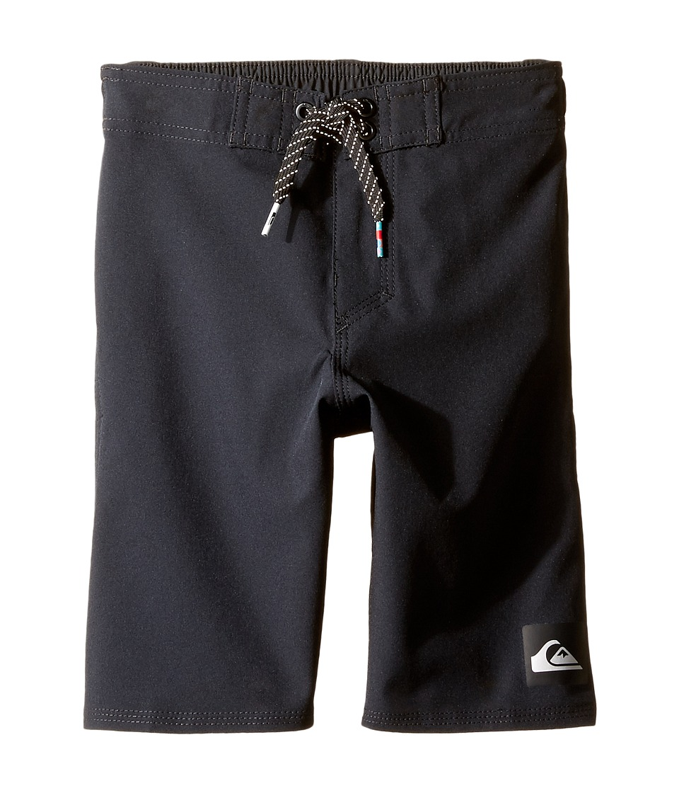 Quiksilver Kids - Everyday Kaimana Boy 14 5 (Toddler/Little Kids) (Black) Boy's Swimwear