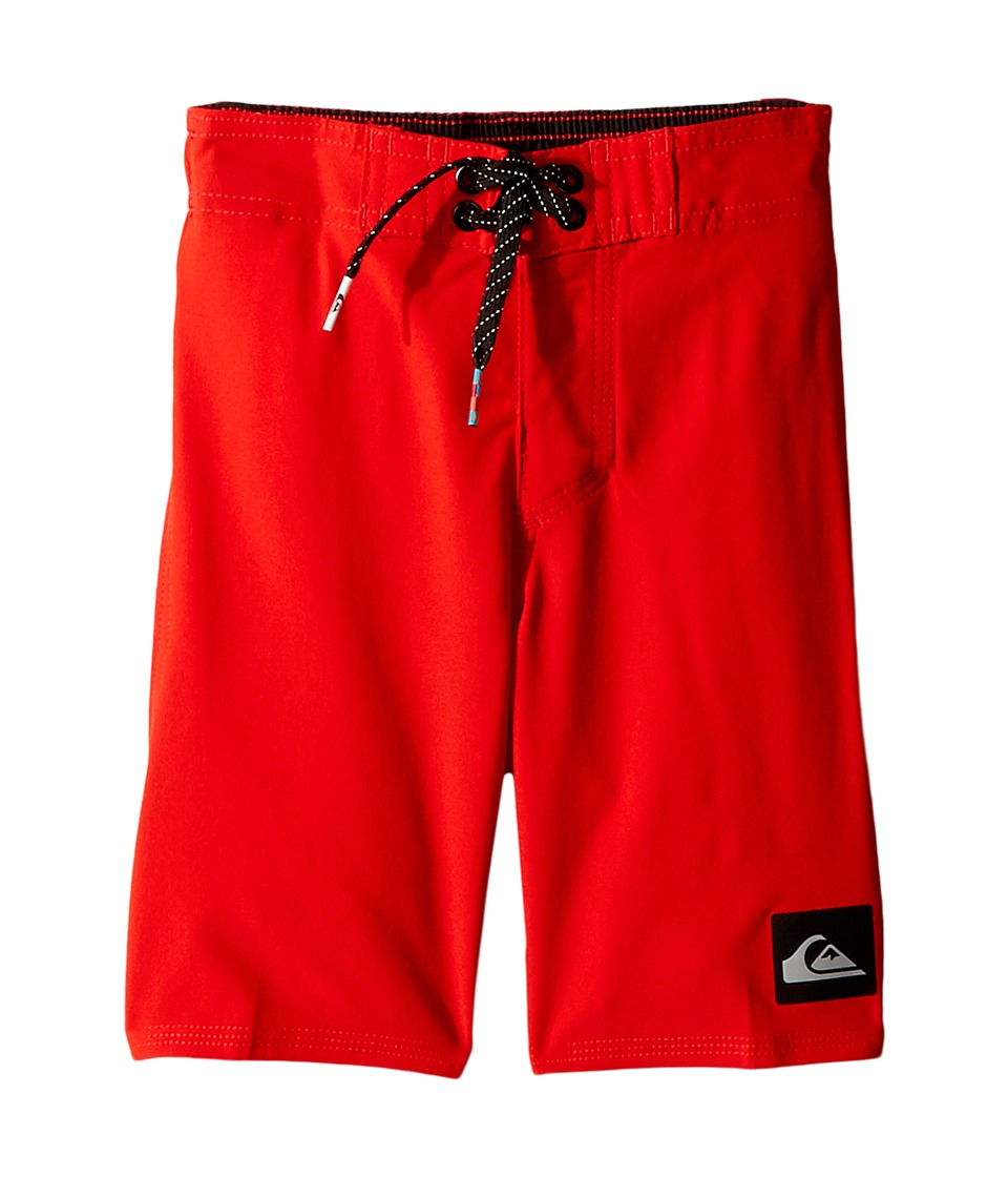 Quiksilver Kids - Everyday Kaimana Boy 14 5 (Toddler/Little Kids) (Quik Red) Boy's Swimwear