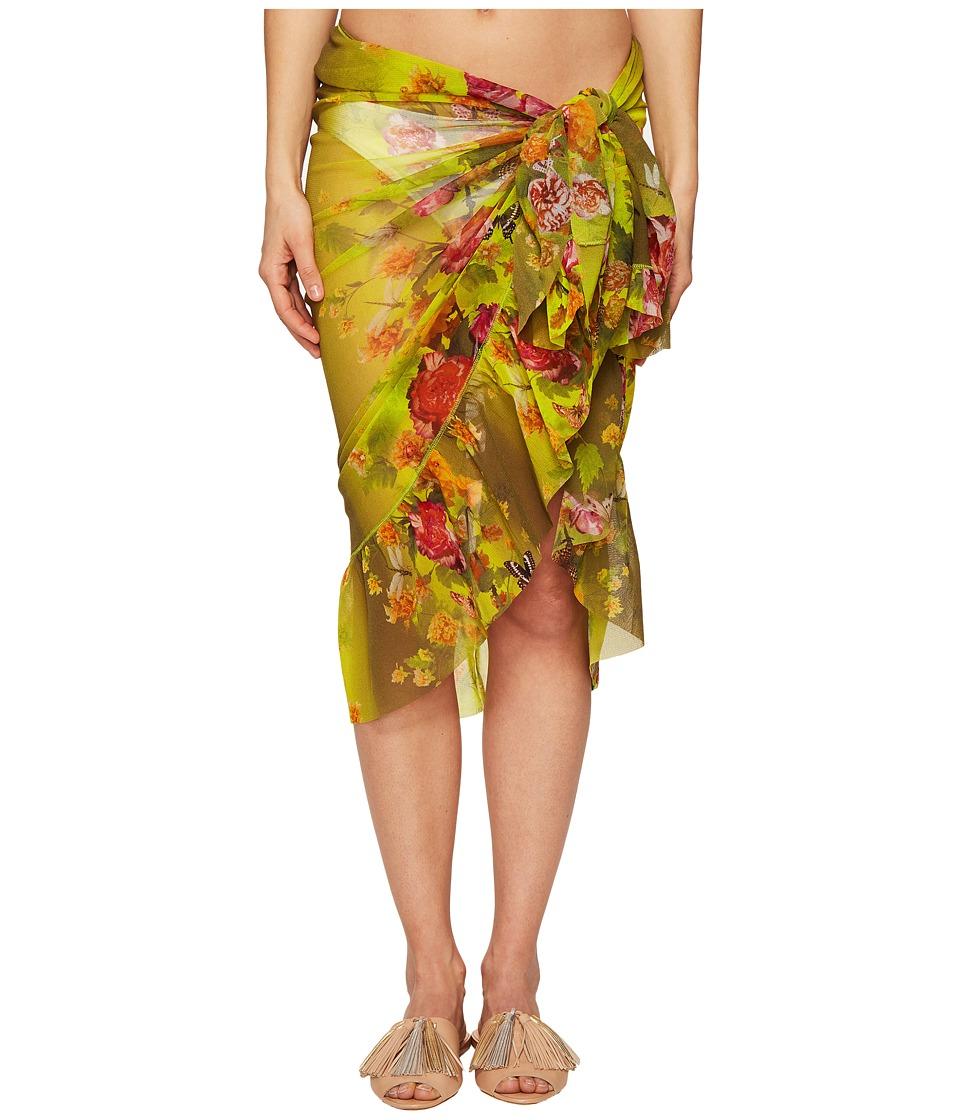 FUZZI - Flower Wrap Pareo (Inca) Women's Clothing