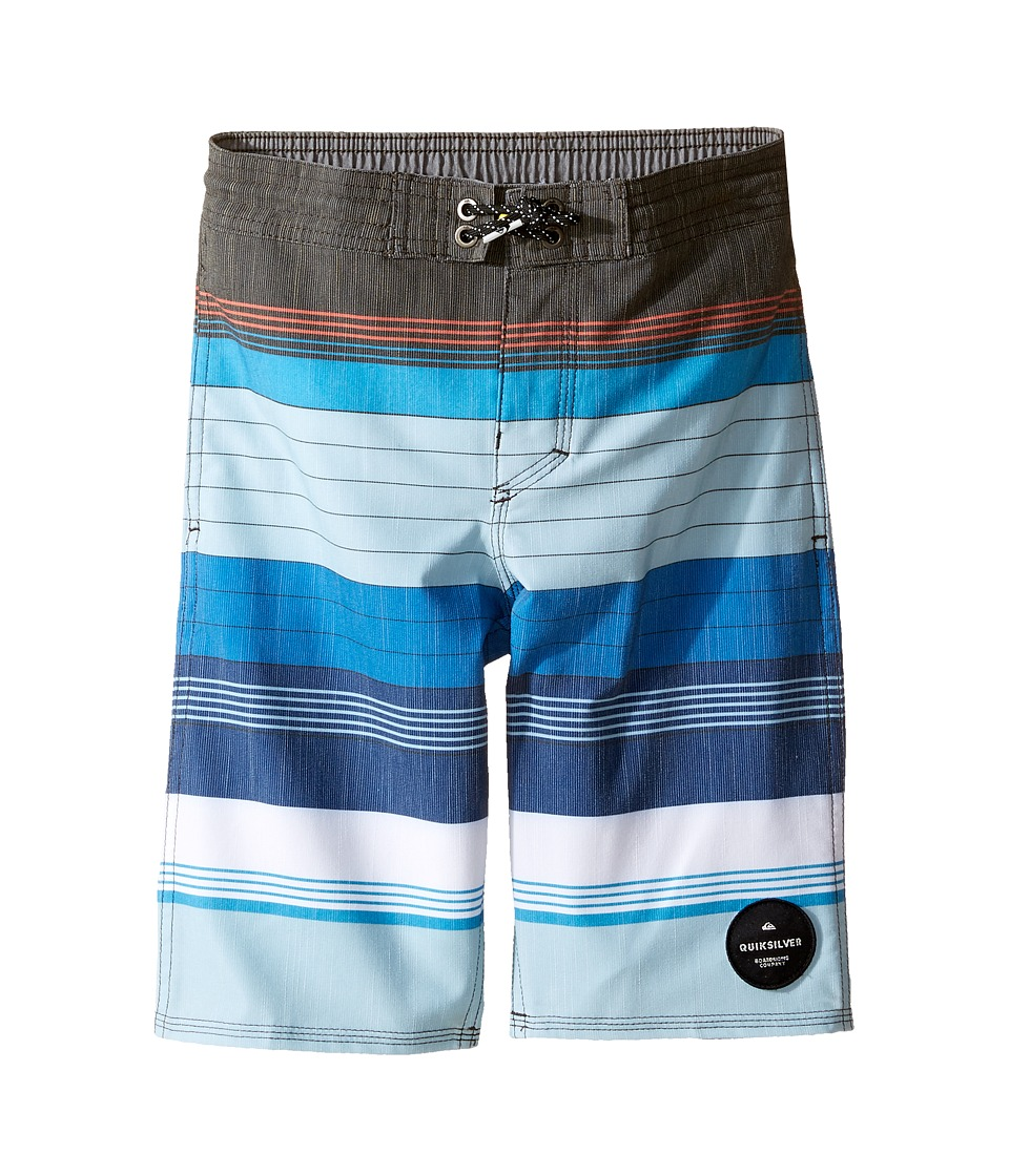 Quiksilver Kids - Swell Vision Beach Shorts 14 5 (Toddler/Little Kids) (Imperial Blue) Boy's Swimwear