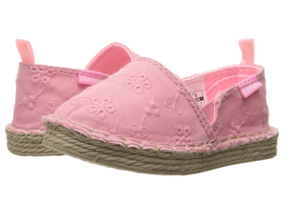 Carters - Astrid 2-C (Toddler/Little Kid) (Pink) Girl's Shoes