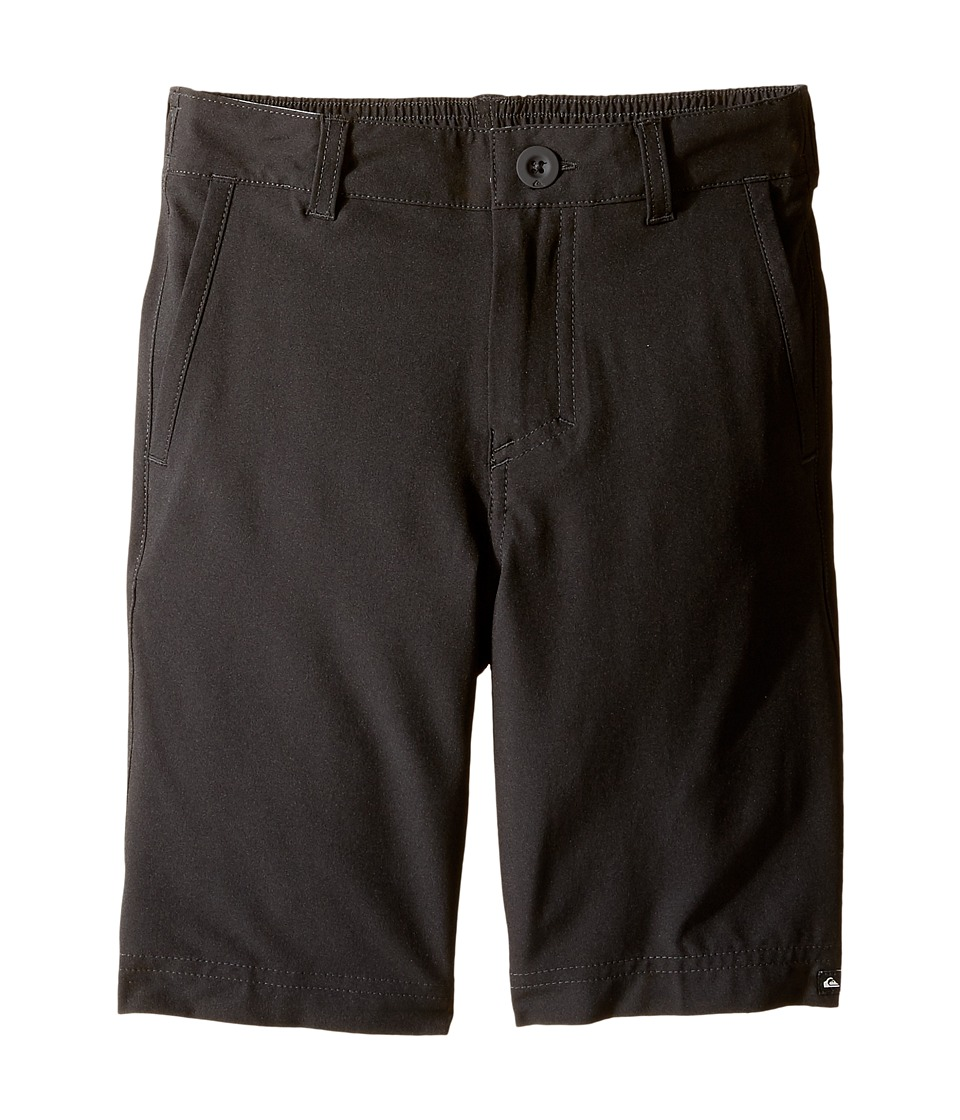 Quiksilver Kids - Solid Amphibian 14 (Toddler/Little Kids) (Black) Boy's Shorts