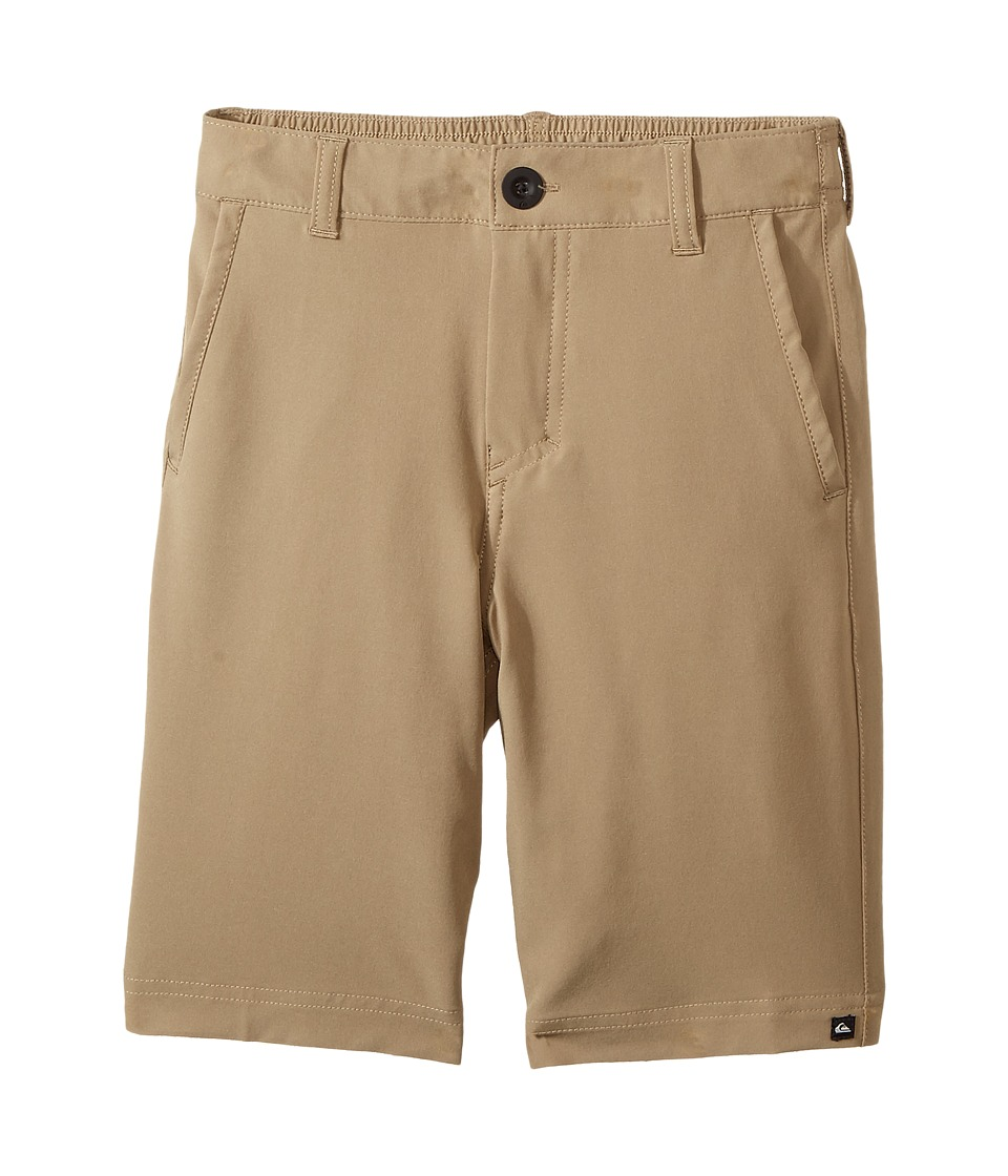 Quiksilver Kids - Solid Amphibian 14 (Toddler/Little Kids) (Elmwood) Boy's Shorts