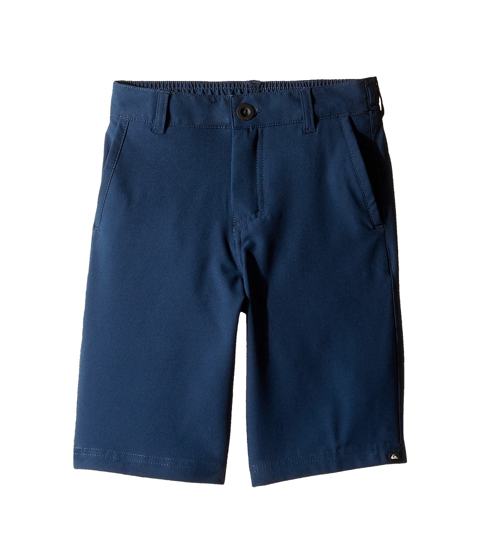 Quiksilver Kids - Solid Amphibian 14 (Toddler/Little Kids) (Navy Blazer) Boy's Shorts