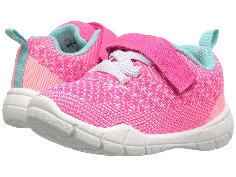Carters - Swipe-G (Toddler/Little Kid) (Pink/Orange/Turquoise) Girl's Shoes
