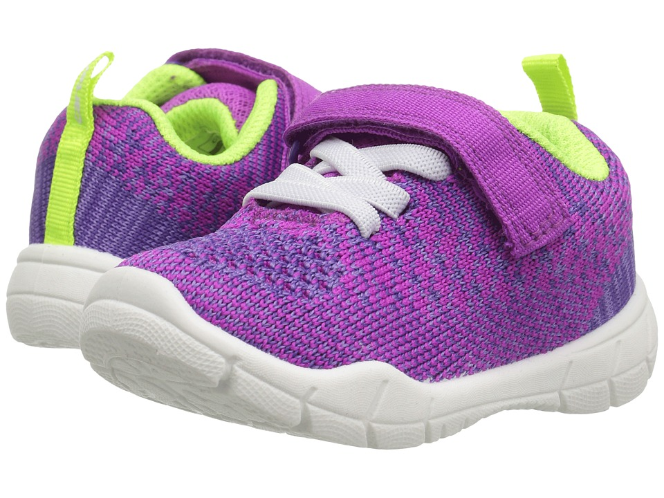 Carters - Swipe-G (Toddler/Little Kid) (Purple) Girl's Shoes