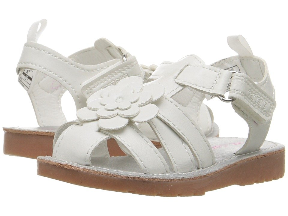 Carters - Misty 2 (Toddler/Little Kid) (White) Girl's Shoes