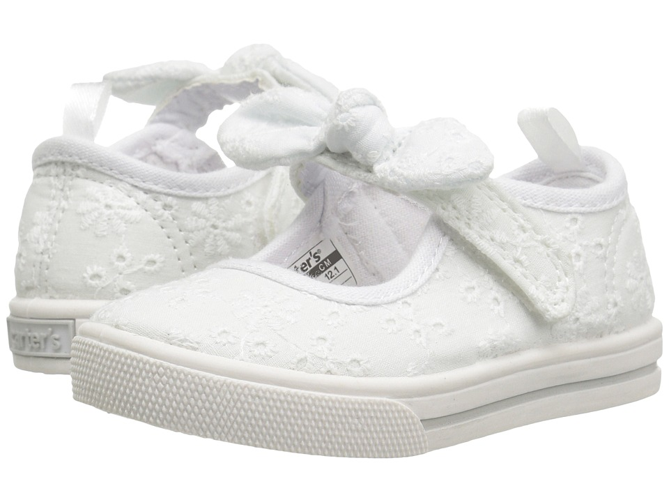 Carters - Spice (Toddler/Little Kid) (White) Girl's Shoes