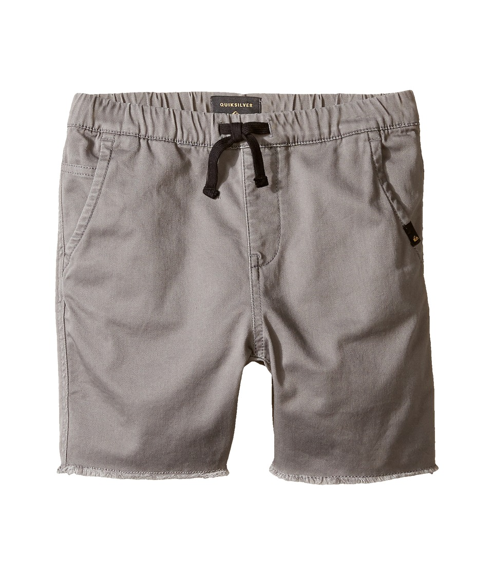 Quiksilver Kids - Fun Days Shorts (Toddler/Little Kids) (Quiet Shade) Boy's Shorts