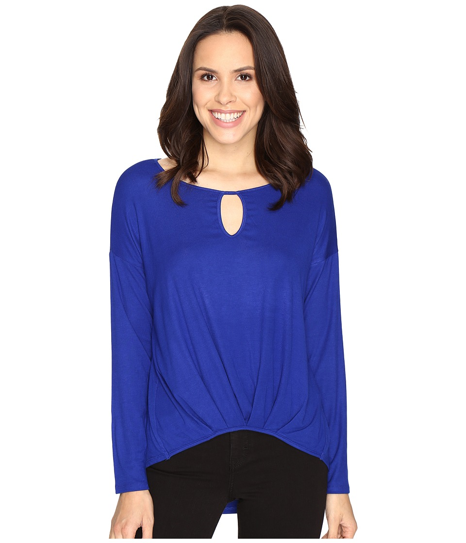 Christin Michaels - Kettle Lake Top (Royal) Women's Clothing